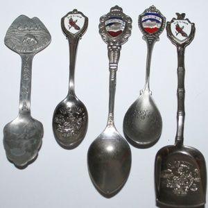 Virginia Lot of collectors spoon set
